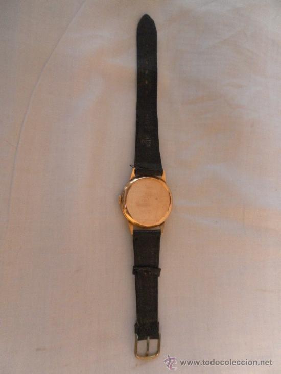 Relojes de pulsera: Antiguo reloj de pulsera. Cyma.. Oro de 18 Quilates. En estado de marcha. - Foto 5 - 32343000