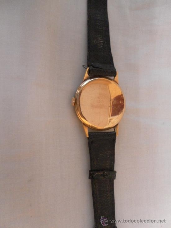 Relojes de pulsera: Antiguo reloj de pulsera. Cyma.. Oro de 18 Quilates. En estado de marcha. - Foto 6 - 32343000