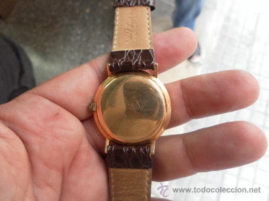 Relojes de pulsera: Antiguo reloj. De pulsera. Longines. Oro de 18 Quilates. En estado de marcha. - Foto 14 - 32342843