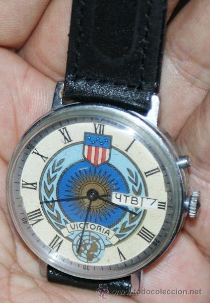 RELOJ MADE IN URSS (Relojes - Pulsera Carga Manual)