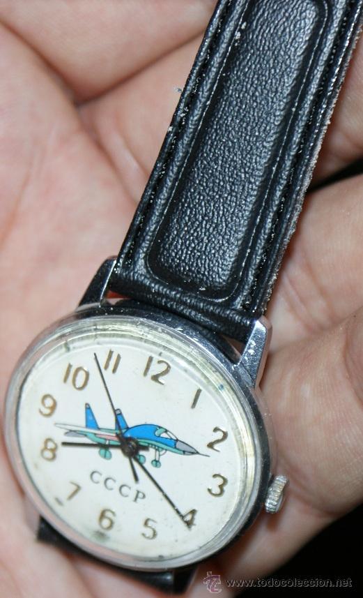 RELOJ DE LA ANTIGUA URSS (Relojes - Pulsera Carga Manual)