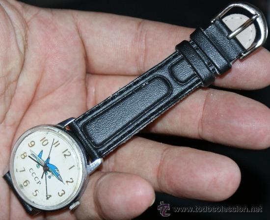 Relojes de pulsera: reloj de la antigua urss - Foto 2 - 33008687