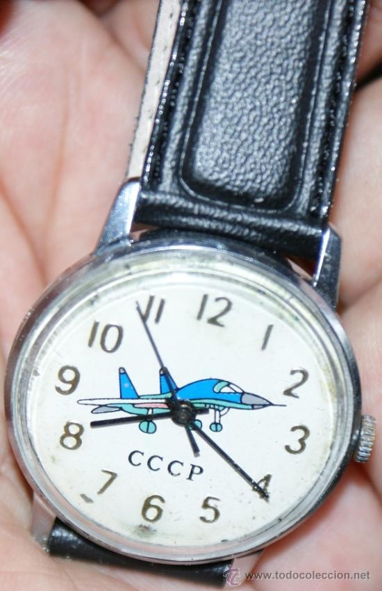Relojes de pulsera: reloj de la antigua urss - Foto 3 - 33008687