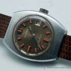 Relojes de pulsera: RELOJ PULSERA A CUERDA RADIANT INCABLOC SWISS MADE AÑOS 70 FUNCIONA. Lote 33715543