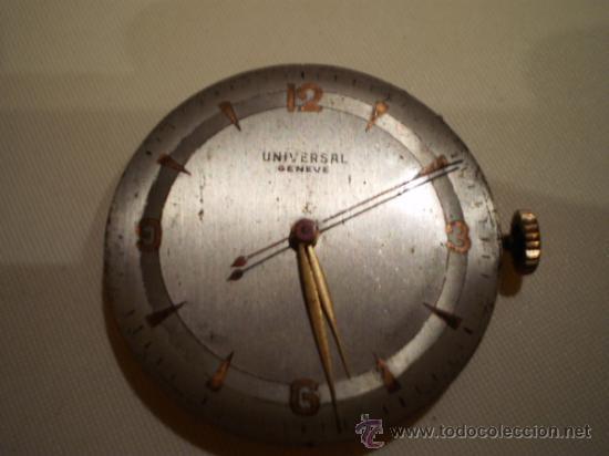 UNIVERSAL GENEVE MAQUINARIA Y ESFERA UNIVERSAL GENEVE VER DESCRIPCION (Relojes - Pulsera Carga Manual)
