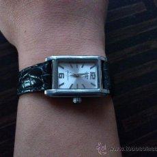 Relojes de pulsera: RELOJ CASIO SEÑORA ACERO INOXIDABLE Y CUERO . Lote 34375734