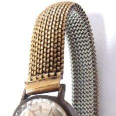 Relojes de pulsera: PRECIOSO RELOJ ANTIGUO SEÑORA TORMAS SUIZO BAÑADO ORO 17 RUBIS. Lote 34434339