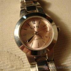 Relojes de pulsera: RELOJ DE PULSERA ACERO WATCHT LXN QUARZ, TODO ORIGINAL.. Lote 34685687
