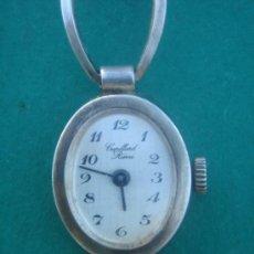 Relojes de pulsera: RELOJ JOYA SEÑORA CUPILLARD RIÉME EN PLATA CONTRASTADA. ARGENT MASSIF G.B. 865. Lote 34975809