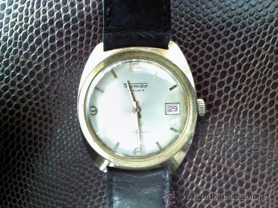 RELOJ MARCA THERMIDOR DE CUERDA 17 RUBIS (Relojes - Pulsera Carga Manual)