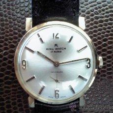 Relojes de pulsera: RELOJ DE CUERDA MARCA KING WATCH 17 RUBIS CAJA DORADA. Lote 35353620