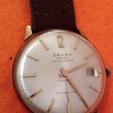 Relojes de pulsera: CAUNY PRIMA CALENDARIO. Lote 35508485