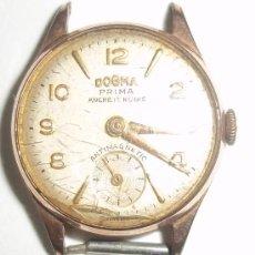Relojes de pulsera: ANTIGUO RELOJ DOGMA PRIMA. 15 RUBIES. Lote 35721416