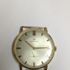 Relojes de pulsera: RELOJ DE ORO HAMILTON CON CUERDA. Lote 35866766