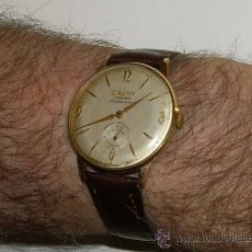 Relojes de pulsera: RELOJ CAUNY PRIMA CENTENARIO. Lote 165312173