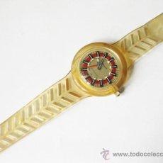 Relojes de pulsera: RELOJ VINTAGE DE PULSERA MARCA OLD ENGLAND - FUNCIONANDO. Lote 36178894