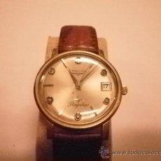 Relojes de pulsera: PRECIOSO LONGINES DE 10 K, GOLD FILLED CON PIEDRAS INCRUSTADAS.. Lote 46332097