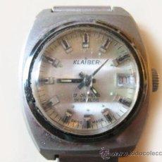 Relojes de pulsera: RELOJ MARCA KLAIBER DE SEÑORITA CON CALENDARIO - FUNCIONANDO. Lote 36758521