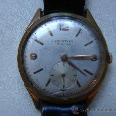 Relojes de pulsera: ANTIGUO RELOJ DE PULSERA ORATOR. FUNCIONA PERFECTAMENTE. Lote 36756193
