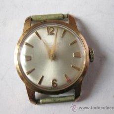 Relojes de pulsera: RELOJ TITAN DE MUJER CHAPADO EN ORO. Lote 36804180