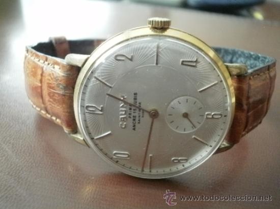 PRECIOSO RELOJ CAUNY PRIMA (ESFERA TEXTURADA) (Relojes - Pulsera Carga Manual)