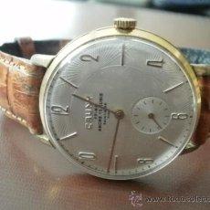 Relojes de pulsera: PRECIOSO RELOJ CAUNY PRIMA (ESFERA TEXTURADA). Lote 161974005
