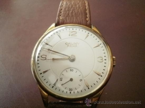 PRECIOSO RELOJ CAUNY PRIMA (ESFERA GRANDE TEXTURADA) (Relojes - Pulsera Carga Manual)