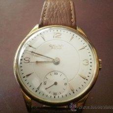 Relojes de pulsera: PRECIOSO RELOJ CAUNY PRIMA (ESFERA GRANDE TEXTURADA). Lote 36813369