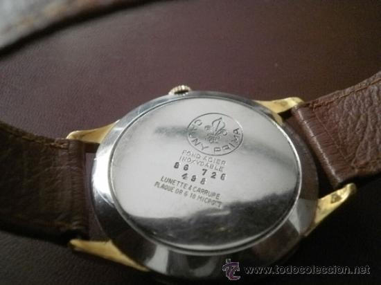 Relojes de pulsera: PRECIOSO RELOJ CAUNY PRIMA (ESFERA GRANDE texturada) - Foto 2 - 36813369