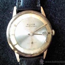 Relojes de pulsera: RELOJ DE CUERDA MARCA FLICA 15 RUBIS. Lote 36903325