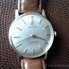 Relojes de pulsera: RELOJ DE CUERDA MARCA CYMA MODELO CIMAFLEX. Lote 36968786