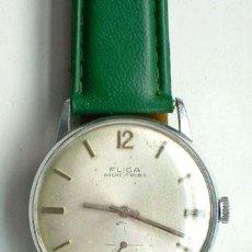Relojes de pulsera: RELOJ DE ÉPOCA, FLICA, 17 RUBÍS, FUNCIONANDO. Lote 37084796