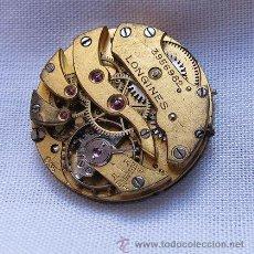 Relojes de pulsera: MAQUINA RELOJ LONGINES ANTIGUA. Lote 37557043