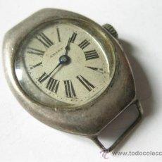Relojes de pulsera: RELOJ DE PLATA 899 DE CUERDA DE LOS AÑOS 20 MARCA ARIST. Lote 37633749