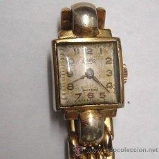 Relojes de pulsera: RELOJ SUIZO MARCA ROAMER CHAPADO EN ORO, AÑOS 50. Lote 37679378