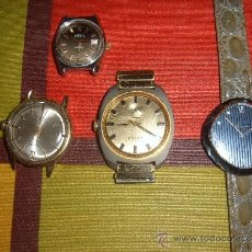 Relojes de pulsera: 4 RELOJES DE CUERDA. Lote 37731630