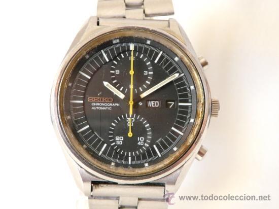 CRONOGRAFO SEIKO AUTOMATICO AÑOS 70 6138-3002 (Relojes - Pulsera Carga Manual)
