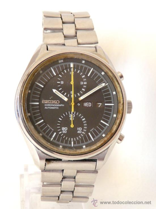 Relojes de pulsera: Cronografo Seiko Automatico Años 70 6138-3002 - Foto 9 - 37770388