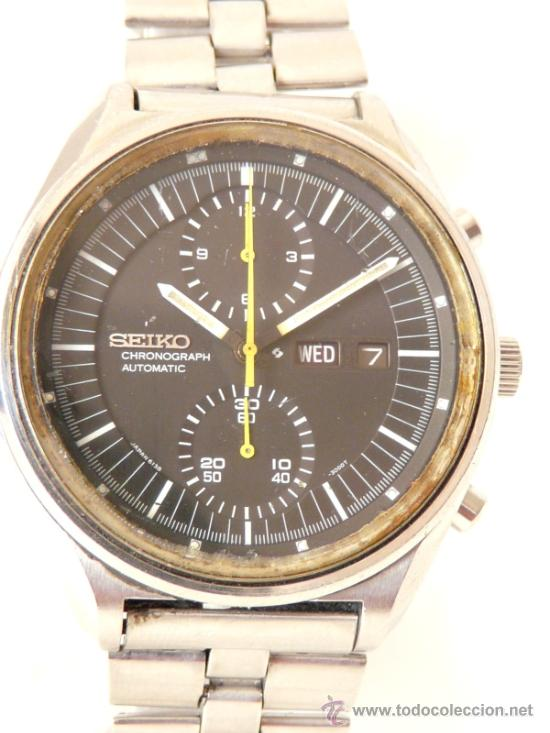 Relojes de pulsera: Cronografo Seiko Automatico Años 70 6138-3002 - Foto 4 - 37770388