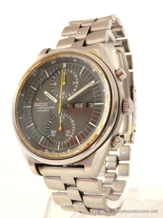 Relojes de pulsera: Cronografo Seiko Automatico Años 70 6138-3002 - Foto 3 - 37770388