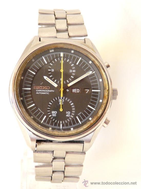 Relojes de pulsera: Cronografo Seiko Automatico Años 70 6138-3002 - Foto 8 - 37770388