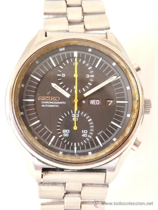 Relojes de pulsera: Cronografo Seiko Automatico Años 70 6138-3002 - Foto 2 - 37770388