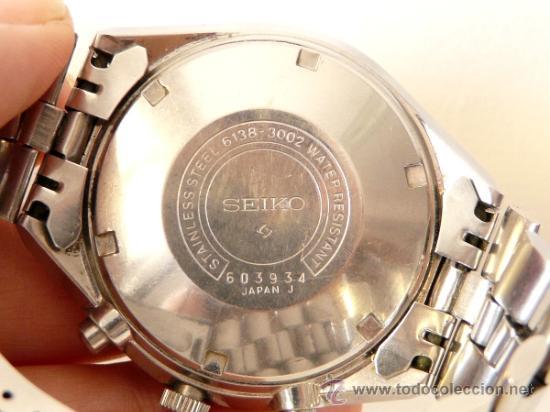 Relojes de pulsera: Cronografo Seiko Automatico Años 70 6138-3002 - Foto 10 - 37770388