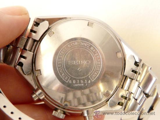 Relojes de pulsera: Cronografo Seiko Automatico Años 70 6138-3002 - Foto 5 - 37770388