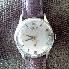 Relojes de pulsera: RELOJ DE CUERDA MARCA DOGMA PRIMA CORREA NUEVA. Lote 37789690
