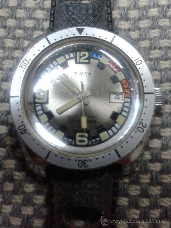 RELOJ TIMEX A CUERDA AÑOS 70. (Relojes - Pulsera Carga Manual)