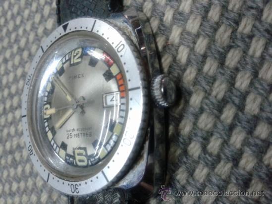 Relojes de pulsera: RELOJ TIMEX A CUERDA AÑOS 70. - Foto 2 - 37887361