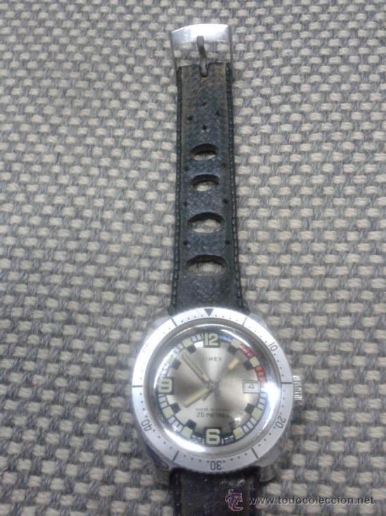 Relojes de pulsera: RELOJ TIMEX A CUERDA AÑOS 70. - Foto 3 - 37887361