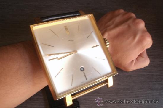 Antiguo original y curioso reloj suizo de puls comprar - Reloj gigante pared ...