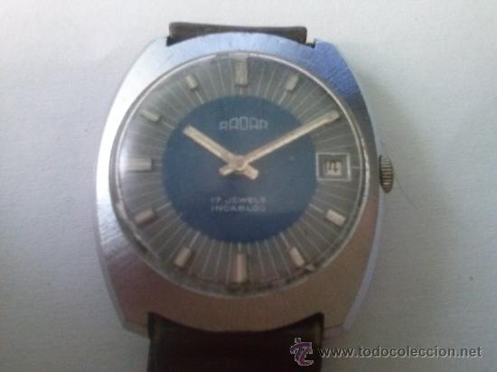 RELOJ DE PULSERA RADAR (Relojes - Pulsera Carga Manual)